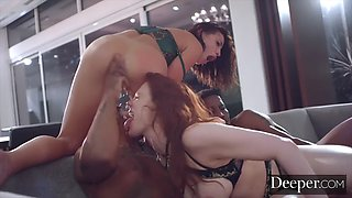 Deeper. Maitland &amp Adriana partake in a twisted foursome
