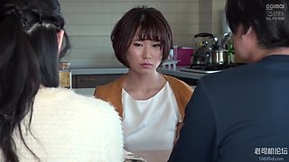 HAWA206 Open Marriage Husband&#39s Certified Boyfriend And Wife Yui 27 Years Old Who Went Around Many Times Until Dawn