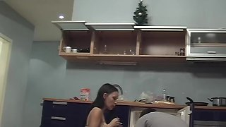 Aurita in naughty amateur couple does an oral sex scene