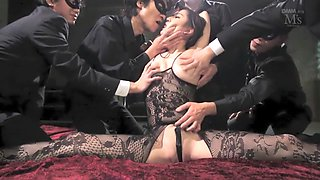 Crazy Japanese chick in Hottest BDSM, Fetish JAV scene