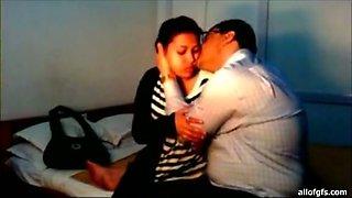 Fat ass desi seduces the girl and face fucks her hard