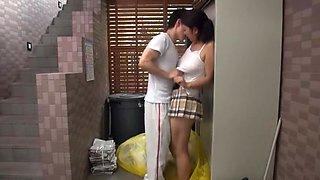 Fabulous Japanese model Yuri Honma in Amazing Big Tits, Couple JAV video