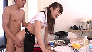 Hot hardcore compilation with a slender Japanese girl