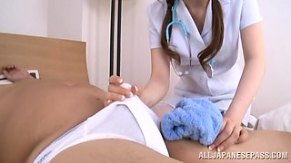 Teen Nurse Will Take Care Of Him