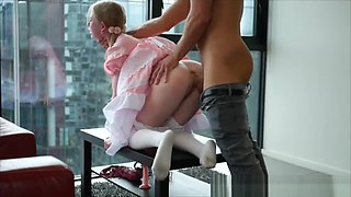 Babygirl used as a Fuckdoll by her Daddy