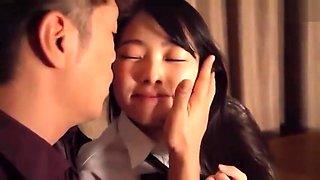 japanese very cute teenager in high school uniform
