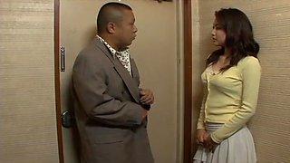 Miho Kanda and her white panties