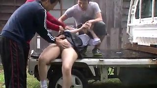 Japanese student forced sex