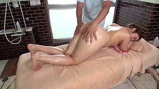 Best Japanese girl Aya Shiomi in Incredible massage, masturbation JAV scene