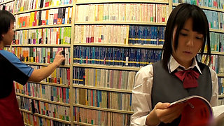 Japanese Bookstore Fuck