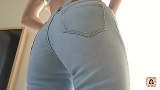 TIGHT JEANS TRY ON HAUL – PERFECT ASS - CANDICE DELAWARE