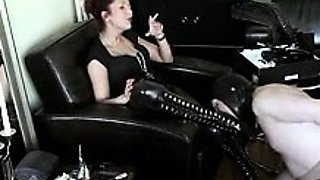 Best Mom Mistress Humiliation. See pt2 at goddessheelsonline