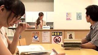 Japanese Schoolgirl Hardcore Threesome Fucking And Creampie