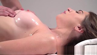 Massage Rooms Beautiful Russian woman squirting