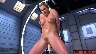 Big tits milf ass sex and cumshot