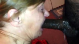 Cuckold wants to see his wife deepthroat that bbc !!!