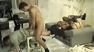 Incredible amateur Stockings, BDSM porn movie
