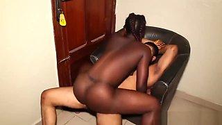 Big Black Ass African Girl From Congo Twerk And Got Fucked