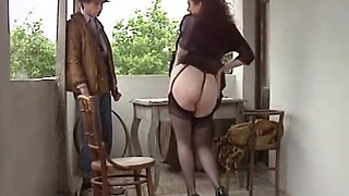Italian Big Tits MILF Assfucked Stockings