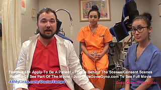 Mia Sanchez's Gyno Exam By Doctor Tampa & Nurse Lilith Rose!