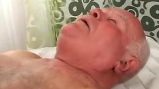 Granddad Can't Live Without Semen Pie three