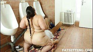 Jitka face-riding slave