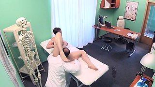 Fake Hospital Sexy Aussie tourist with big tits
