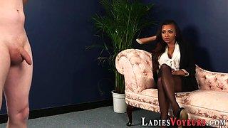 busty ebony cfnm mistress