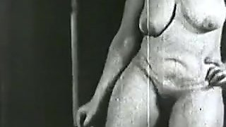 vintage BBW dance and sex