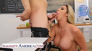 Naughty America - Professor Kayla Paige knows how to teach