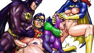 Famous cartoons anal orgies