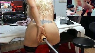 10 mins close-up anal show