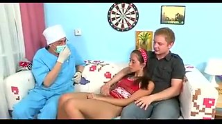 Hot russian college girl mmf threesome