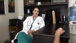 Penis doctor fucks her patient