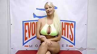 Busty london river nude wrestling dominates wimpy dude