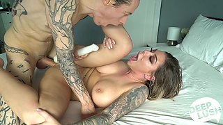 Big titted fucking machine of a woman Karma Rx gets her pussy worked over