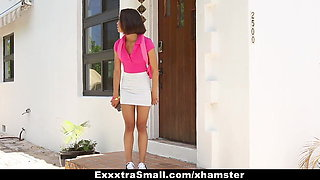 ExxxtraSmall - Cute Small Teen Fucked By Huge Cock