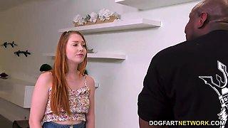 Babysitter Arietta Adams Gets Creampied By A Black Dad